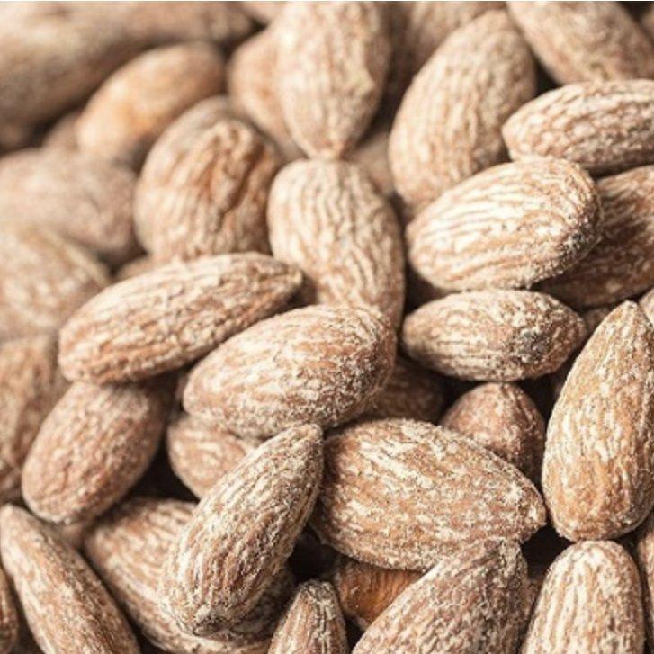 Mandeles grauzdētas, sālītas