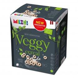 MILZU! Veggy Cereal BIO Dārzeņu pārslas riņķīši bez cukura