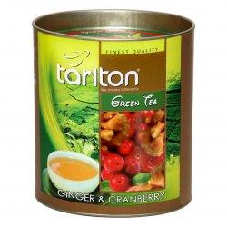 Ingvera un Dzērveņu Ceilonas Zaļā beramā lielo lapu tēja