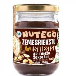 Zemesriekstu sviests ar tumšo šokolādi NUTEGO