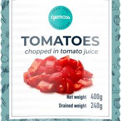Tomāti mizoti, griezti tomātu sulā