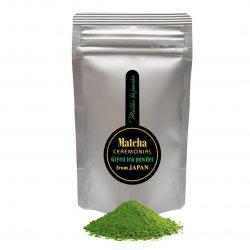 Matcha - zaļās tējas pulveris no Japānas