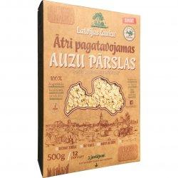 Ātri pagatavojamas Latvijā audzētas auzu pārslas