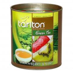 Zemeņu & Kivi Ceilonas Zaļā beramā lielo lapu tēja