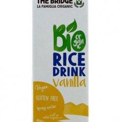 Rīsu dzēriens ar vaniļu BIO (bez glutēna)