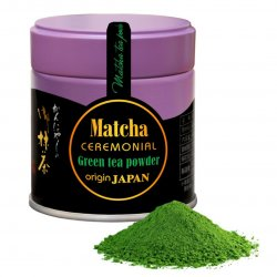 Matcha Ceremonial (Kyoto) - zaļās tējas pulveris no Japānas
