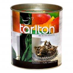 Mistiskā Mango Ceilonas Zaļā beramā lielo lapu tēja