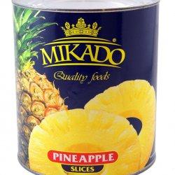 Ananasu riņķi sīrupā